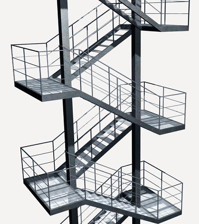 Pre o em portugal de ud de escada de emerg ncia gerador - Normativa barandillas exteriores ...